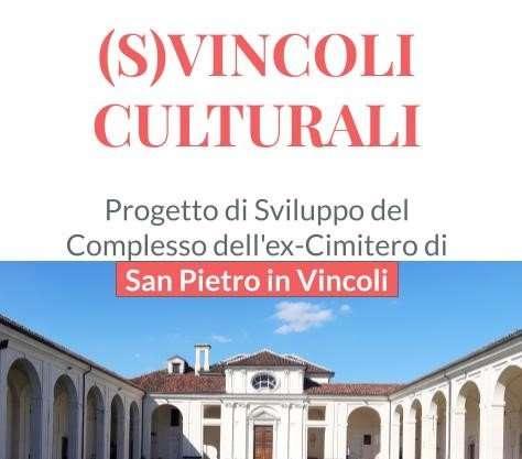 Conferenza stampa (S)Vincoli Culturali